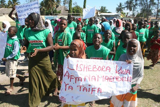 Ngara-Murusagamba na Nterungwe Vinara wa Lishe Duni  kwa Watoto.