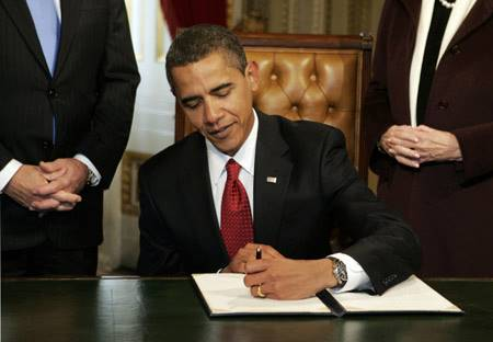 Barack Obama é canhoto