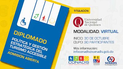 Diplomado CONADIS Política Y Gestión Estratégica del Turismo Accesible
