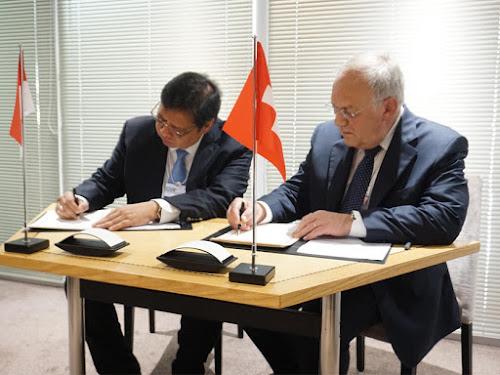 Kerja sama pendidikan vokasi Indonesia dan Swiss