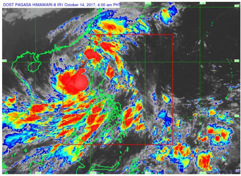 'Bagyong Odette' PAGASA weather update October 14, 2017