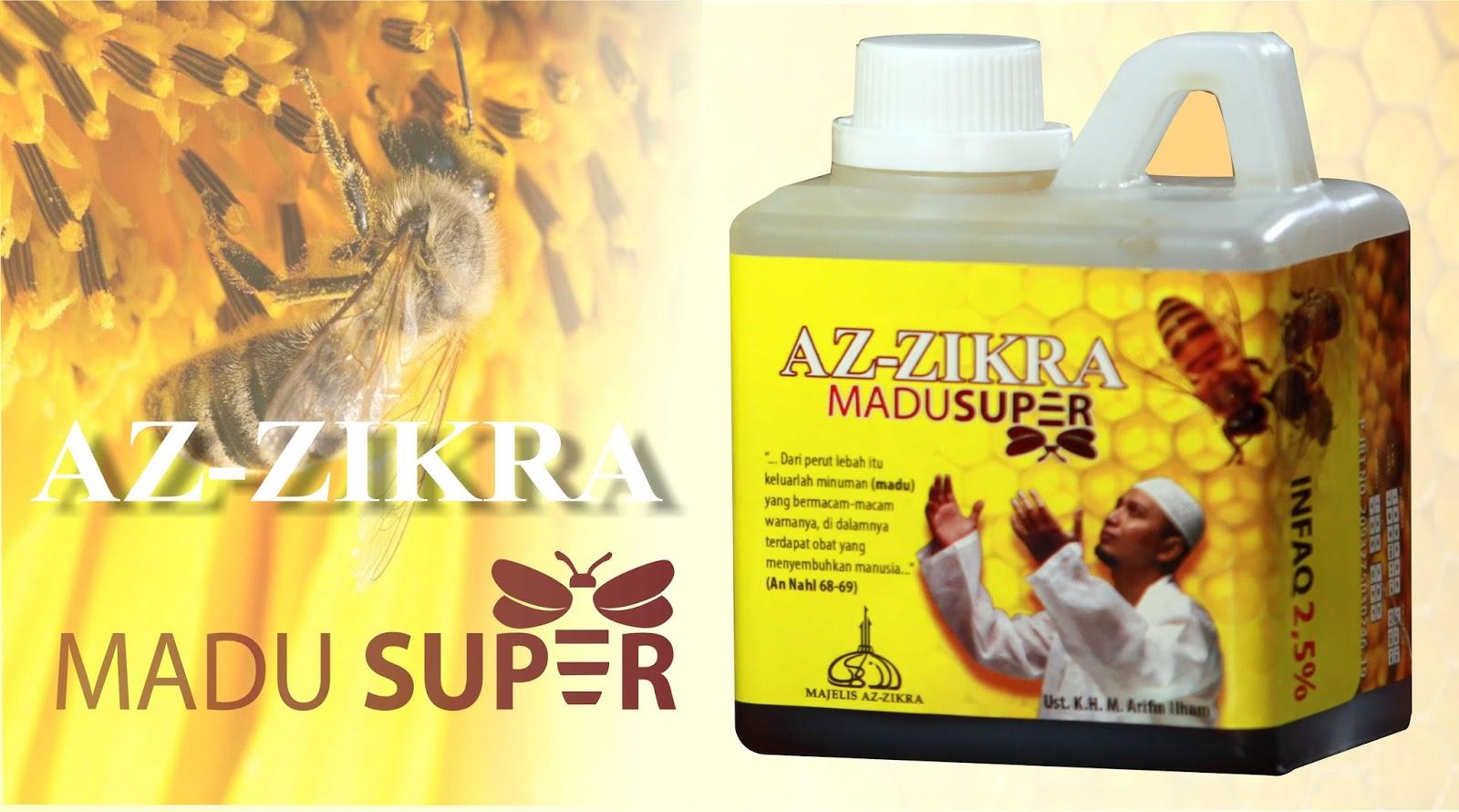 Manfaat Madu Super Az Zikra Pahit Hitam Original