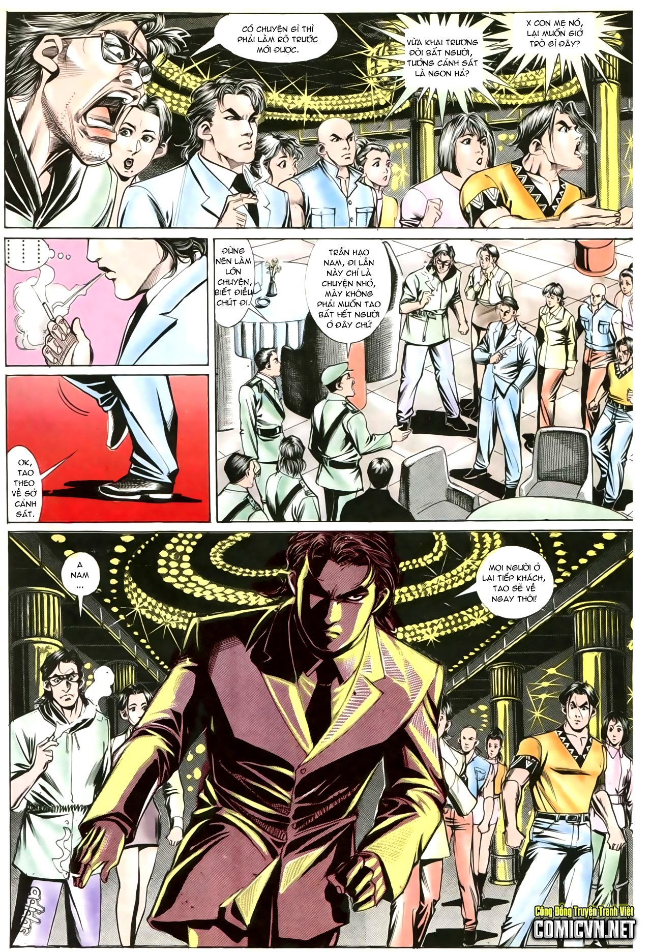 Người Trong Giang Hồ chapter 202: đối đầu trang 9