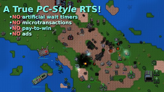 Rusted Warfare – RTS Strategy Apk Free on Android Game Download