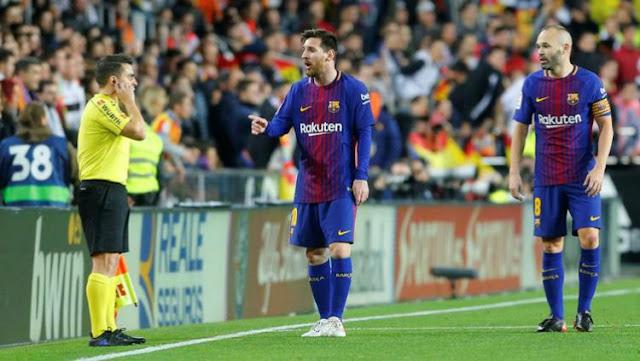 Tidak Dianggap, Netizen Buat Meme Lucu Gol 'Hantu' Messi