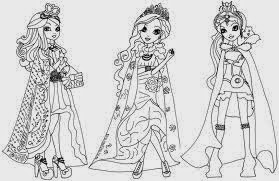 Loucos Por Ever After High Desenhos Para Colorir Ever After High