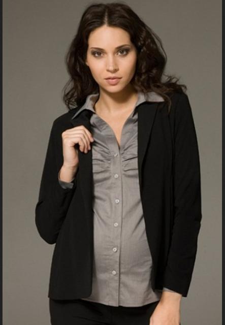 baju hamil kerja modern dan modis, kemeja
