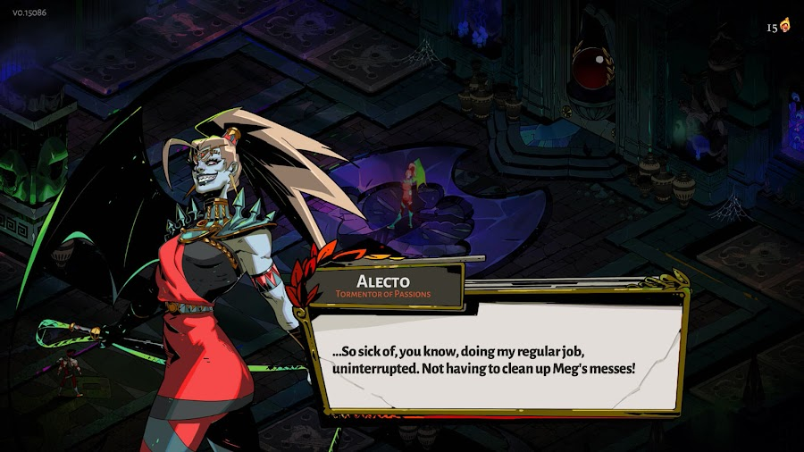 hades murder death kill update fury boss alecto supergiant games