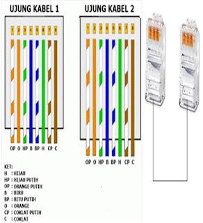 Cara Membuat Kabel Straight dan Cross