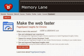 Page Speed Chrome Extension