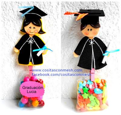 dulceros-foami-graduación