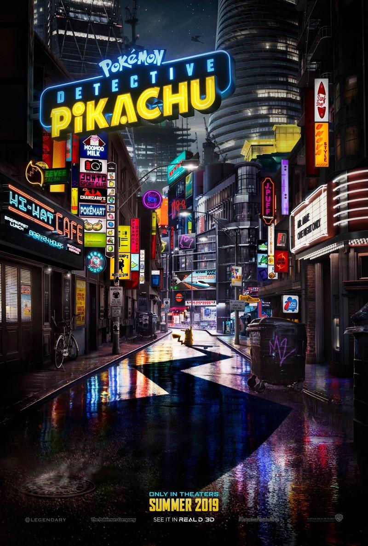 pokemon detective pikachu poster
