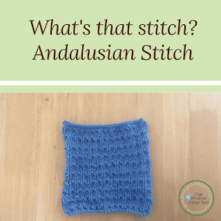 Picture of whats that stitch andalusian stitch