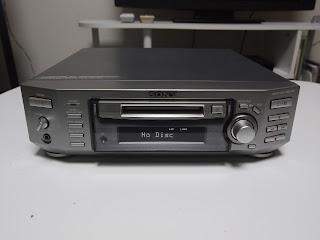 ソニーのMDデッキMDS-S50
