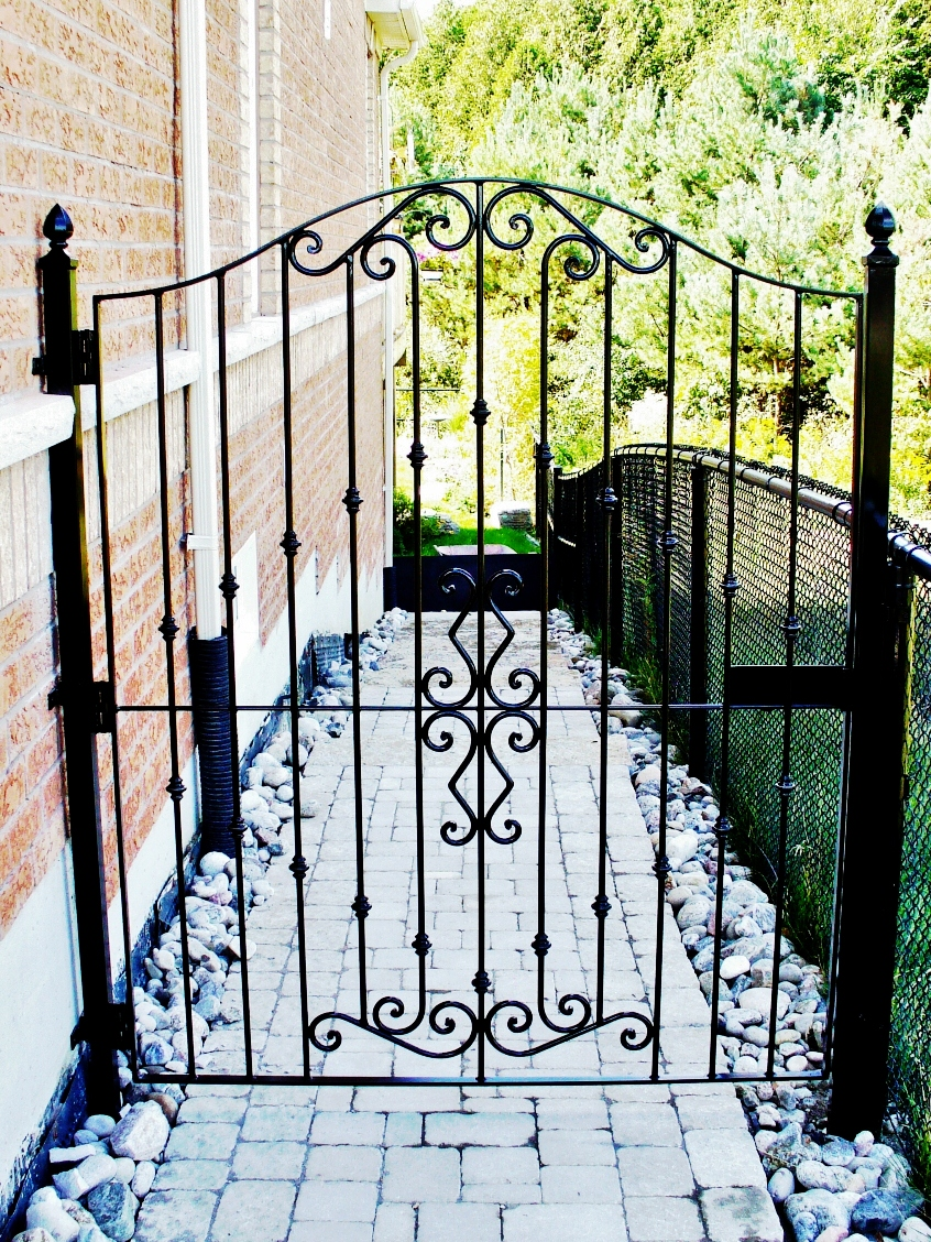 Wrought Iron Gates: Wrought Iron From Julian: Wrought Iron Gates
