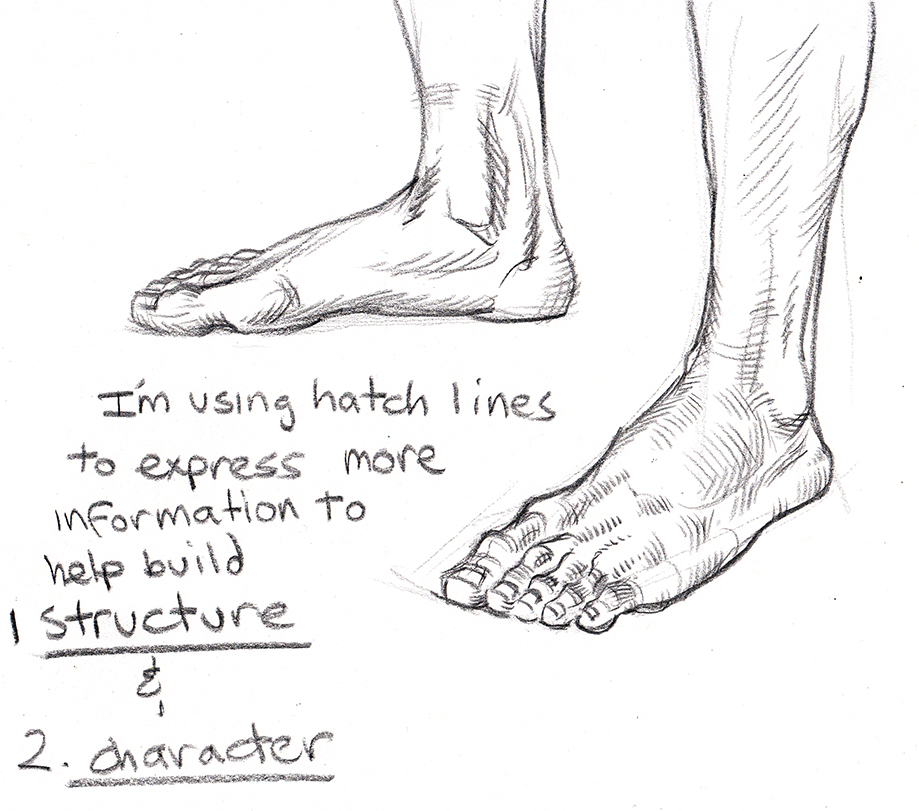 It is a picture of Irresistible Drawing On Feet