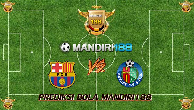 AGEN BOLA - Prediksi Barcelona vs Getafe 11 Februari 2018
