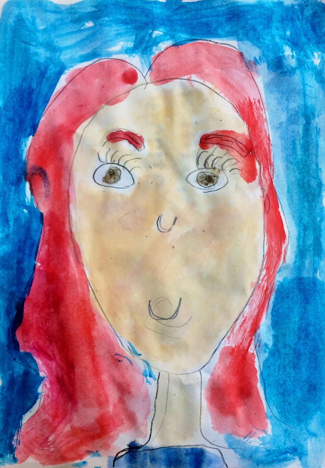 Portretul mamei