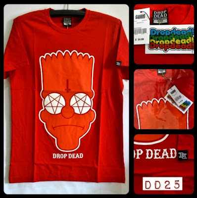 Kaos Distro Surfing Skate DROP DEAD Premium Kode DD25