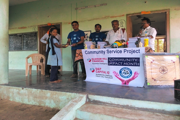 S&P Capital IQ Hyderabad Community Service Projects: EVG – 021