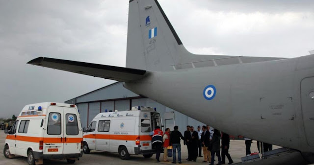 Τα «ιπτάμενα ασθενοφόρα» της Πολεμικής Αεροπορίας - Καθημερινές οι αεροδιακομιδές ασθενών