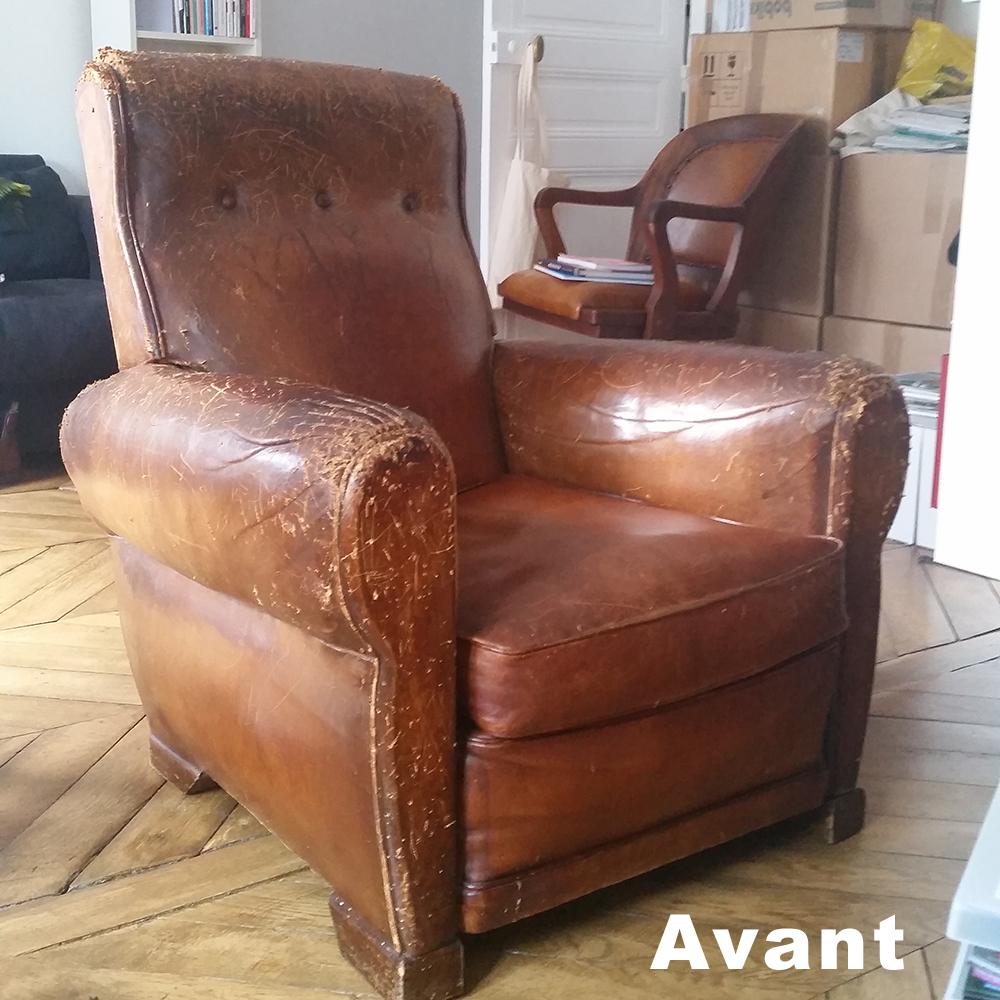 renovation fauteuil cuir renovation cuir fauteuil club sofolk r novation de fauteuil club en. Black Bedroom Furniture Sets. Home Design Ideas