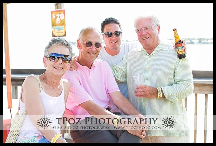Key West Destination Wedding Sunset Pier Welcome Party