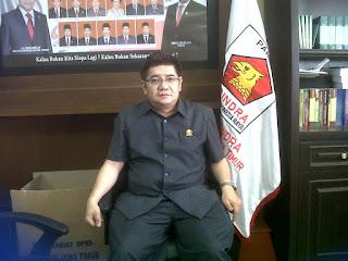 Anggota Komisi E DPRD Jatim dr.Benjamin Kristianto,Mars