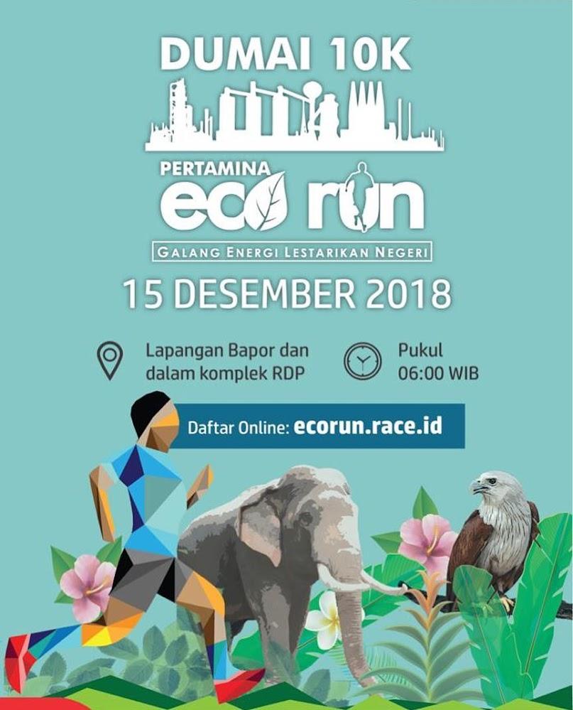 Pertamina Dumai Eco Run • 2018