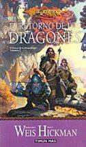 """""""El retorno de los dragones"""" de Margaret Weis y Tracy Hickman"""