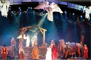 Live Nativity Scene near Gatlinburg