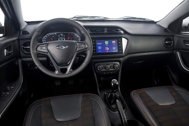 Novo Chery Tiggo II 2018 Flex - interior - painel