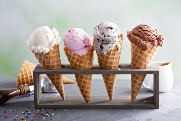Χωνάκια παγωτού