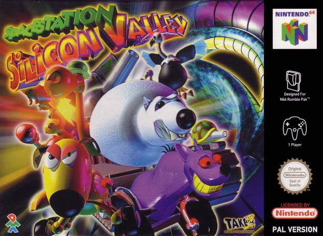 ROMs - Space Station Silicon Valley (Português) - N64 Download