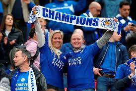 Liecester City fans