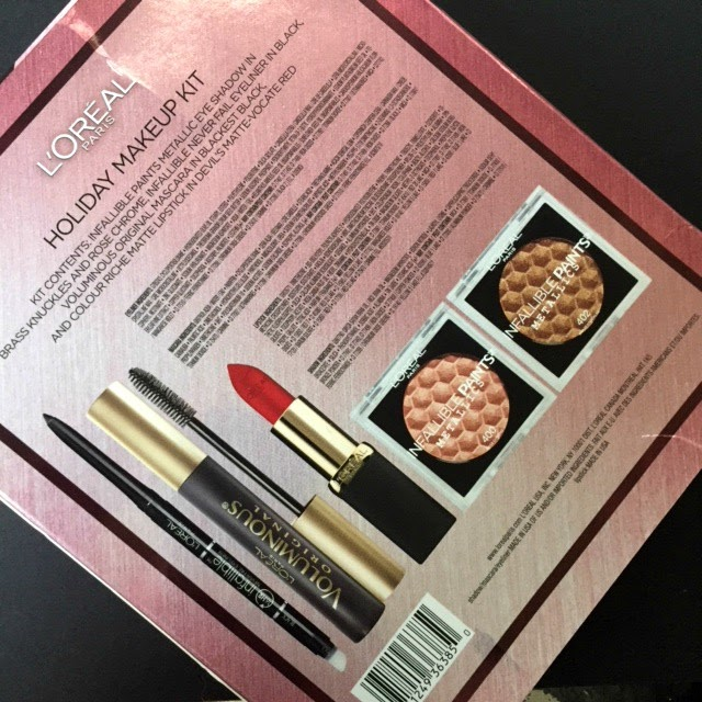 L'Oreal Holiday Makeup Kit (ULTA): Review and Swatches   A