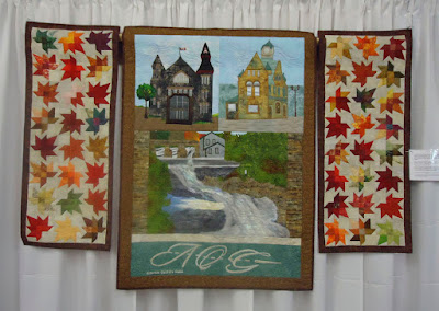 Canada 150 quilt by the Almonte Quilters Guild