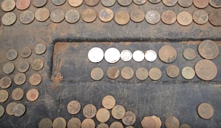 coins found with metal detector