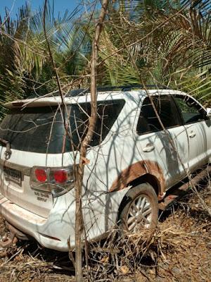 PM recupera caminhonete roubada em Coelho Neto
