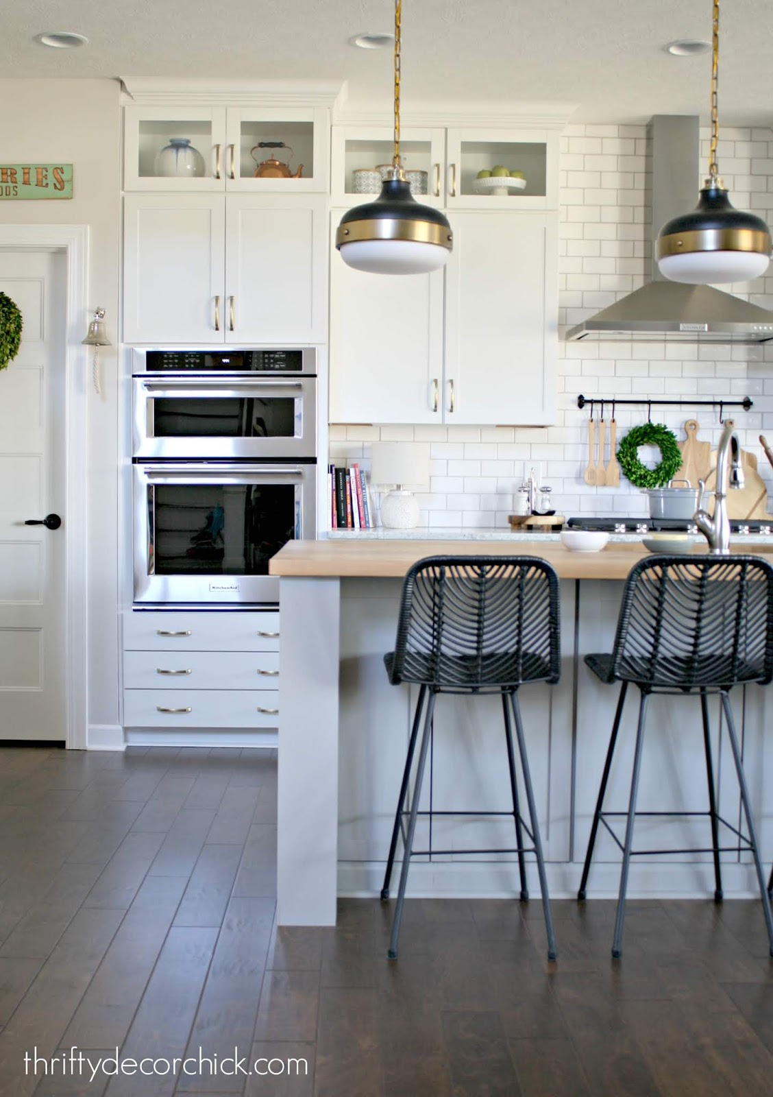 How I added sides and legs to my kitchen island