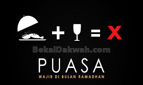 Pengertian dan Hikmah Bulan Puasa Ramadhan