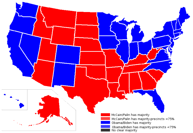USA Map with States and Capitals