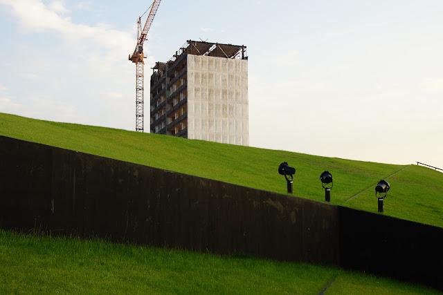 Nic ciekawego. Koncepcyjna fotografia krajobrazu. Abstrakcja. Katowice, Polska. fot. Łukasz Cyrus