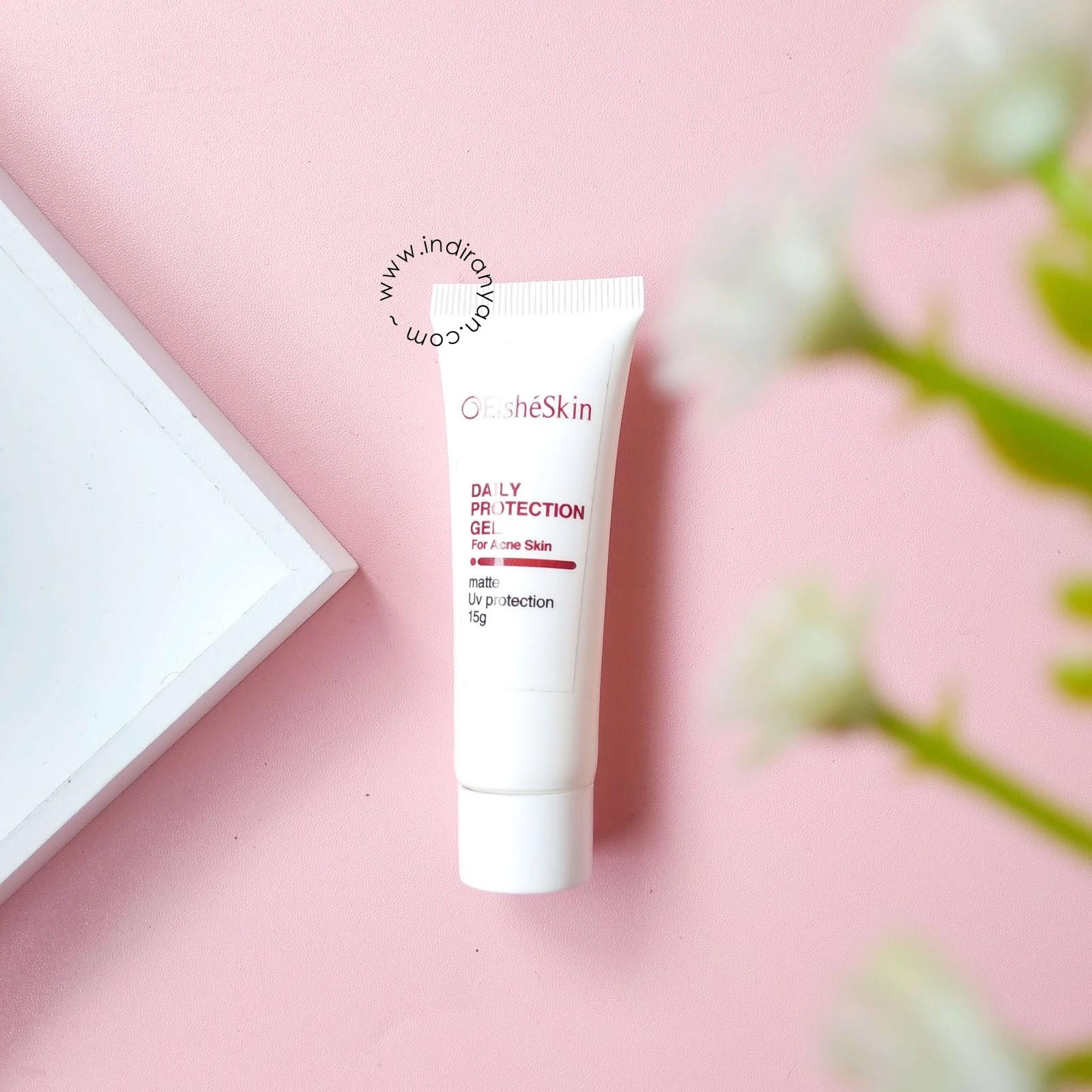 sunscreen-elsheskin, elsheskin-daily-protection-gel, review-elsheskin, elsheskin-untuk-kulit-berjerawat, elsheskin-acne-treatment-series