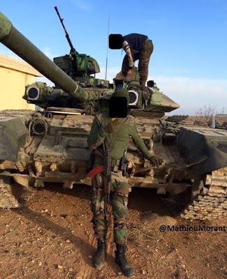 Τ-90 της Asa'ib Ahl al-Haq