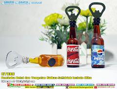 Pembuka Botol Dan Tempelan Kulkas Softdrink Include Mika