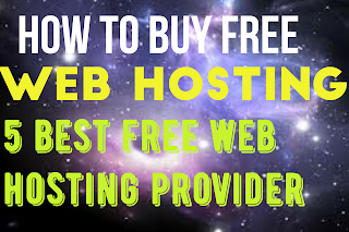 How to buy free hosting
