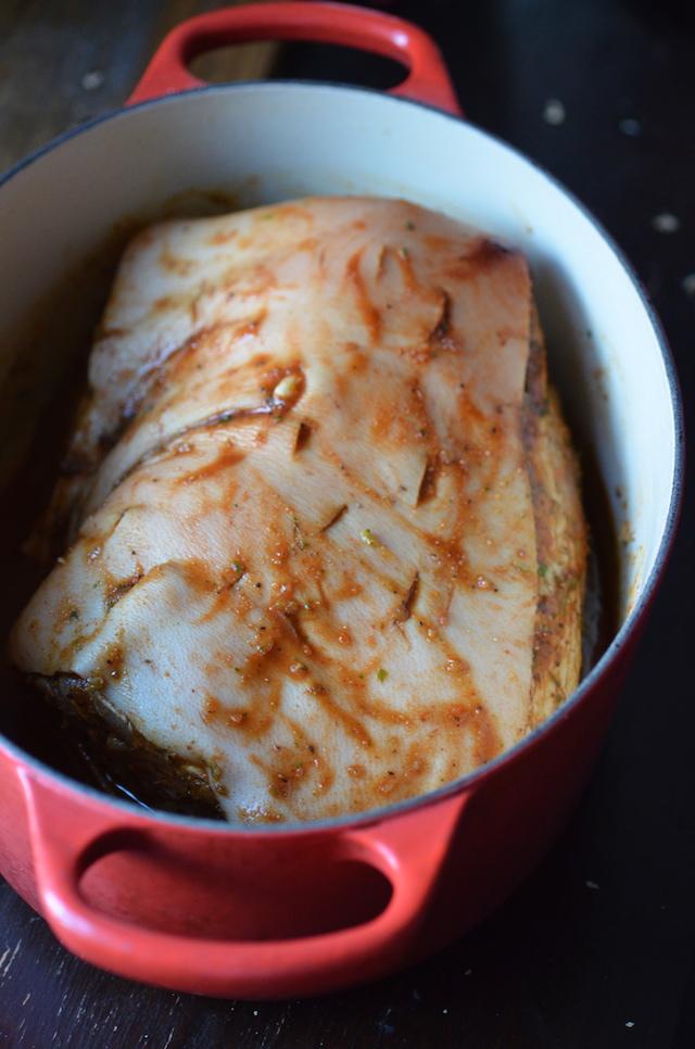 Puerto Rican Pernil With Crispy Skin Always Order Dessert