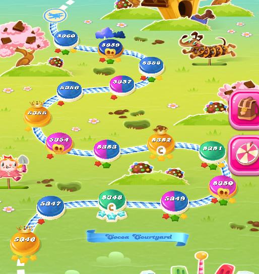 Candy Crush Saga level 5346-5360
