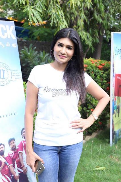 Vijaya lakshmi at Chennai 28 Second Innings tamil movie Press meet Photos